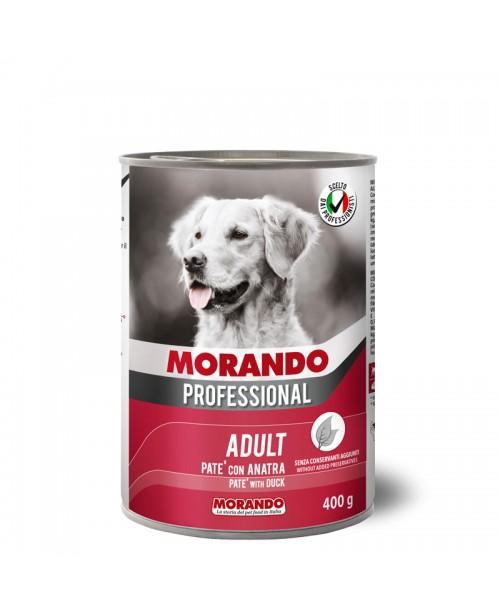 Morando dog  Professional PATÉ WITH DUCK  (Паштет с уткой ) 400 гр