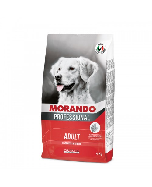 Morando dog Professional Beef  с говядиной для собак 4 кг