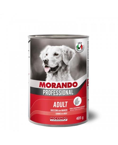 Morando dog Professional Beef  (кусочки в соусе с говядиной) 405 гр