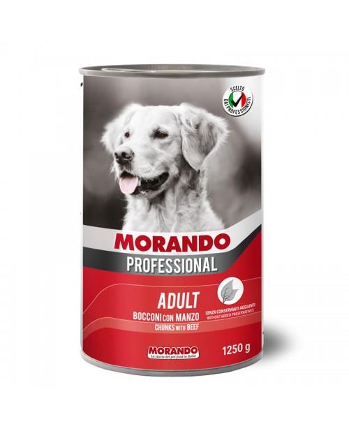 Morando dog Professional Beef  (кусочки в соусе с говядиной) 1250 гр
