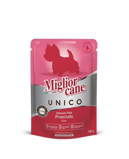 Miglior cane UNICO ADULT MINI DELICATE HAM PATÉ ( паштет с ветчиной) для собак 100 гр